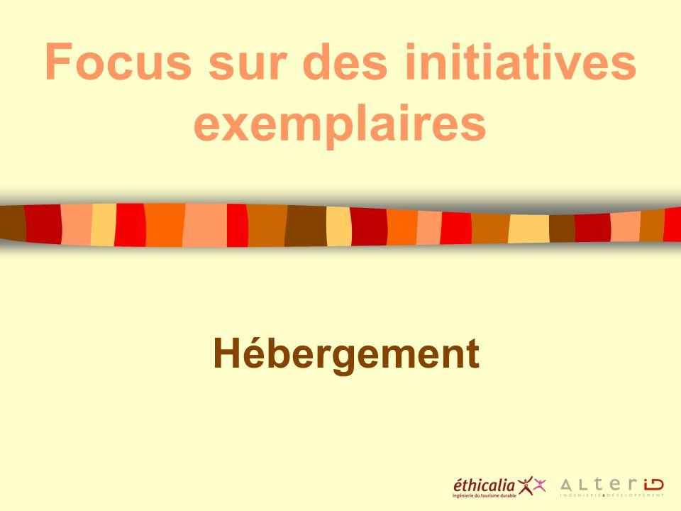 Focus sur des initiatives exemplaires