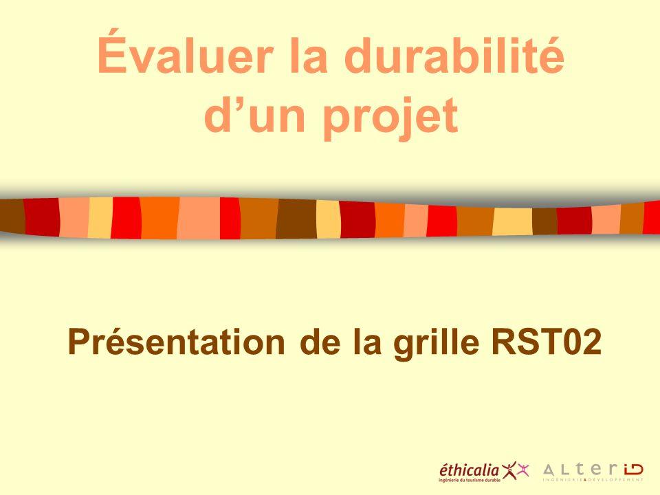 Évaluer la durabilité d'un projet