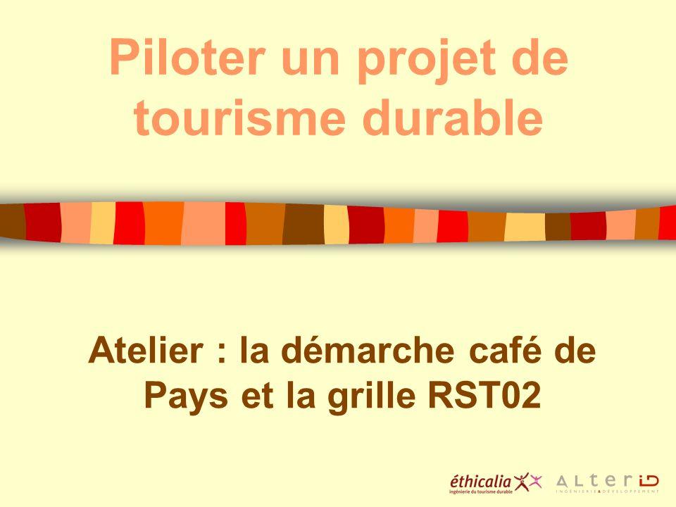 Piloter un projet de tourisme durable