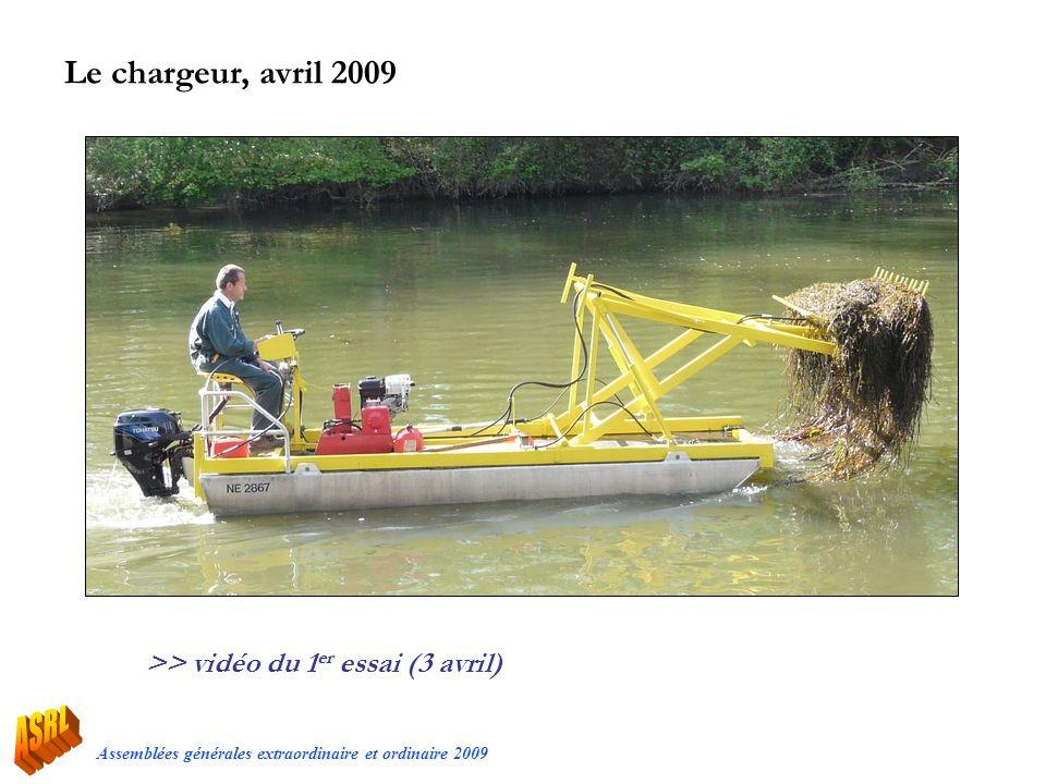 Le chargeur, avril 2009 >> vidéo du 1er essai (3 avril)