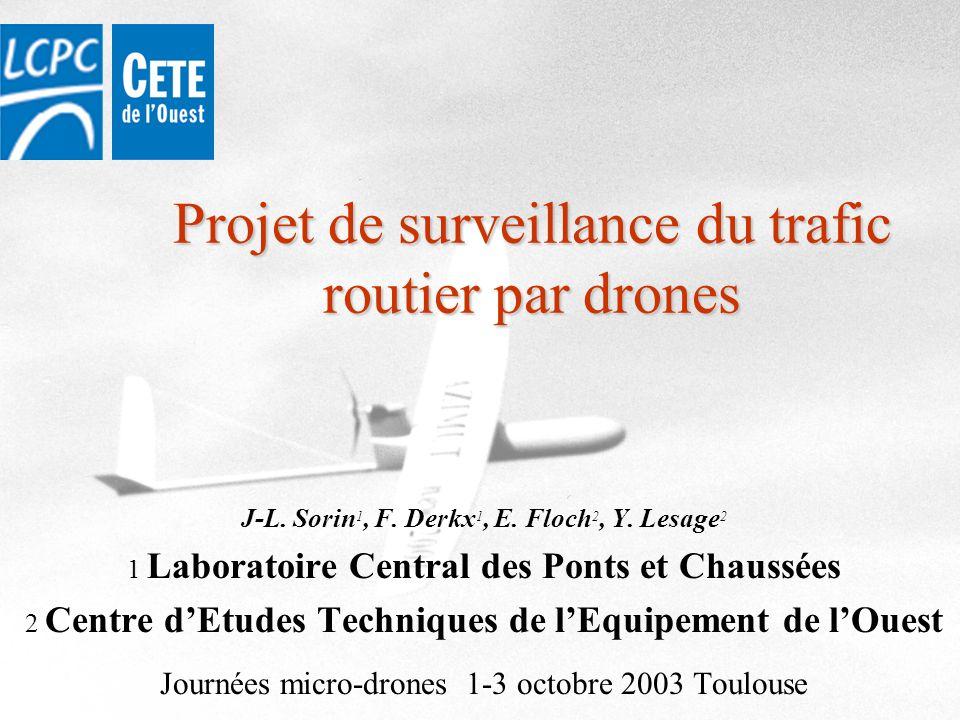 Projet de surveillance du trafic routier par drones