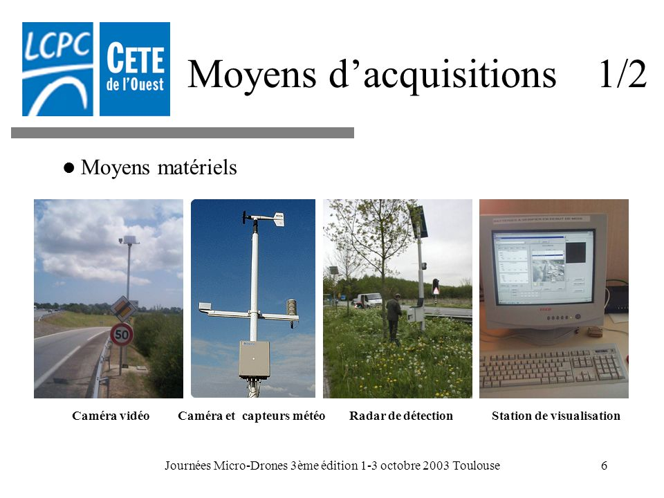 Moyens d'acquisitions 1/2