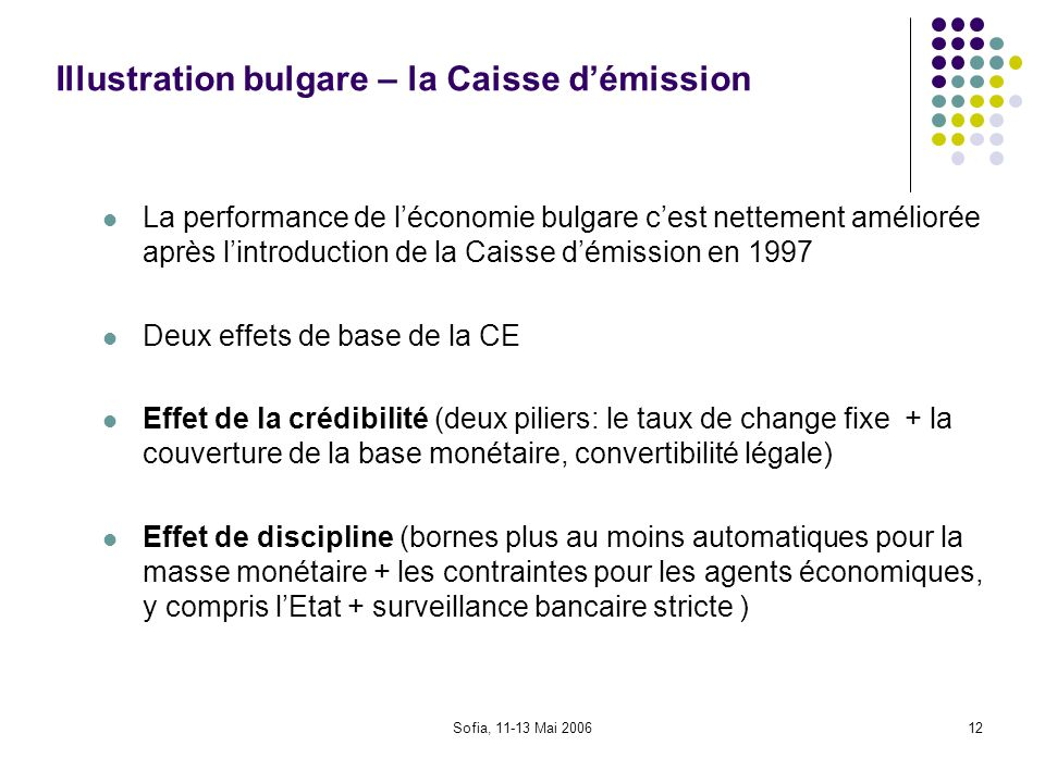 Illustration bulgare – la Caisse d'émission