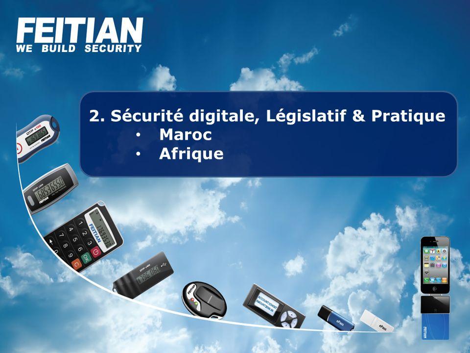 2. Sécurité digitale, Législatif & Pratique