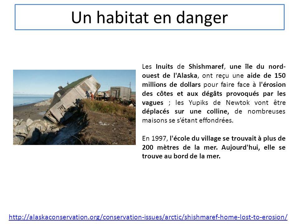 Un habitat en danger