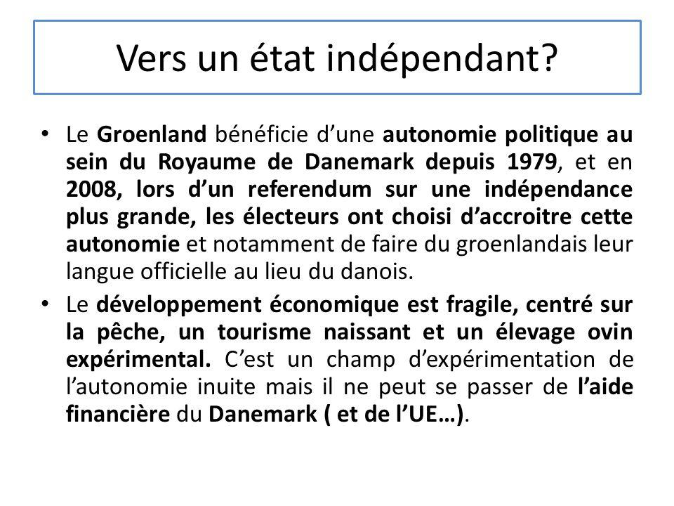 Vers un état indépendant