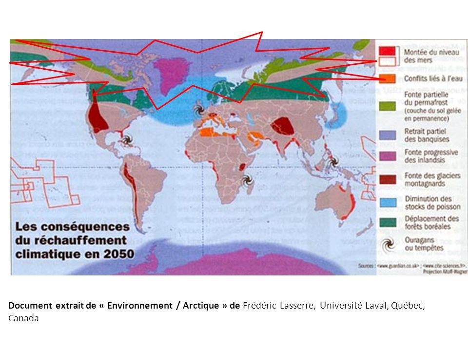 Document extrait de « Environnement / Arctique » de Frédéric Lasserre, Université Laval, Québec, Canada