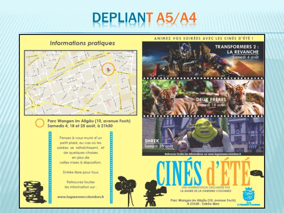 DEPLIANT A5/A4