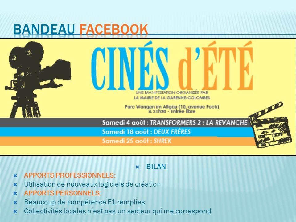 Bandeau facebook BILAN APPORTS PROFESSIONNELS: