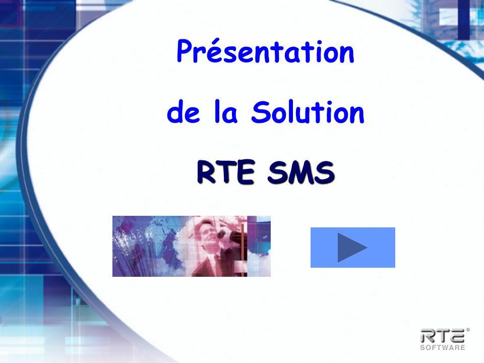 Présentation de la Solution RTE SMS