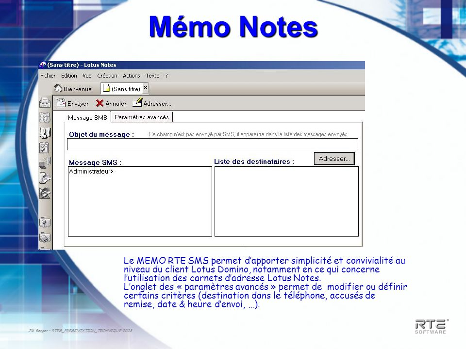 Mémo Notes
