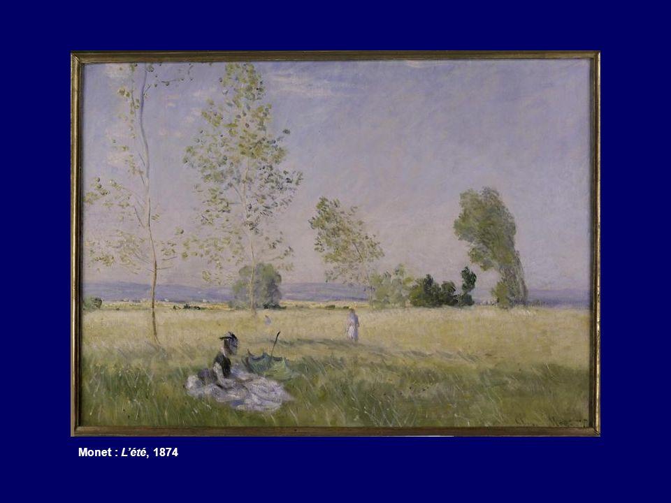 Monet : L'été, 1874