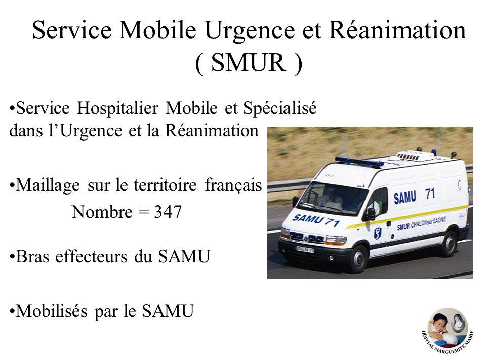 Service Mobile Urgence et Réanimation ( SMUR )