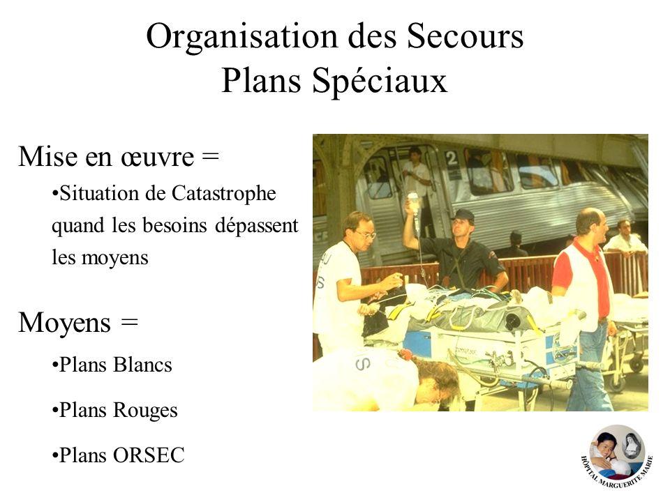 Organisation des Secours Plans Spéciaux