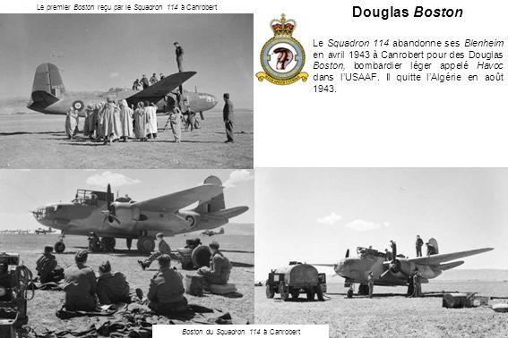 Le premier Boston reçu par le Squadron 114 à Canrobert