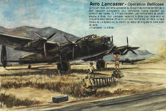 Avro Lancaster - Opération Bellicose