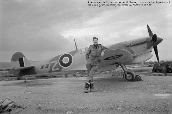A Jemmapes, le Squadron Leader M