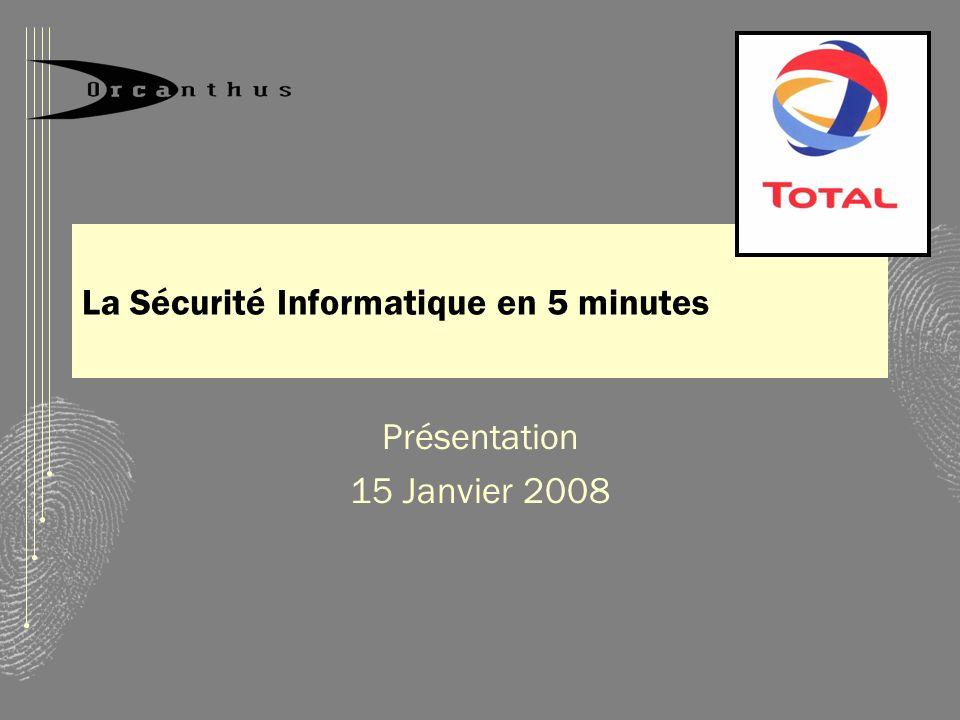 La Sécurité Informatique en 5 minutes
