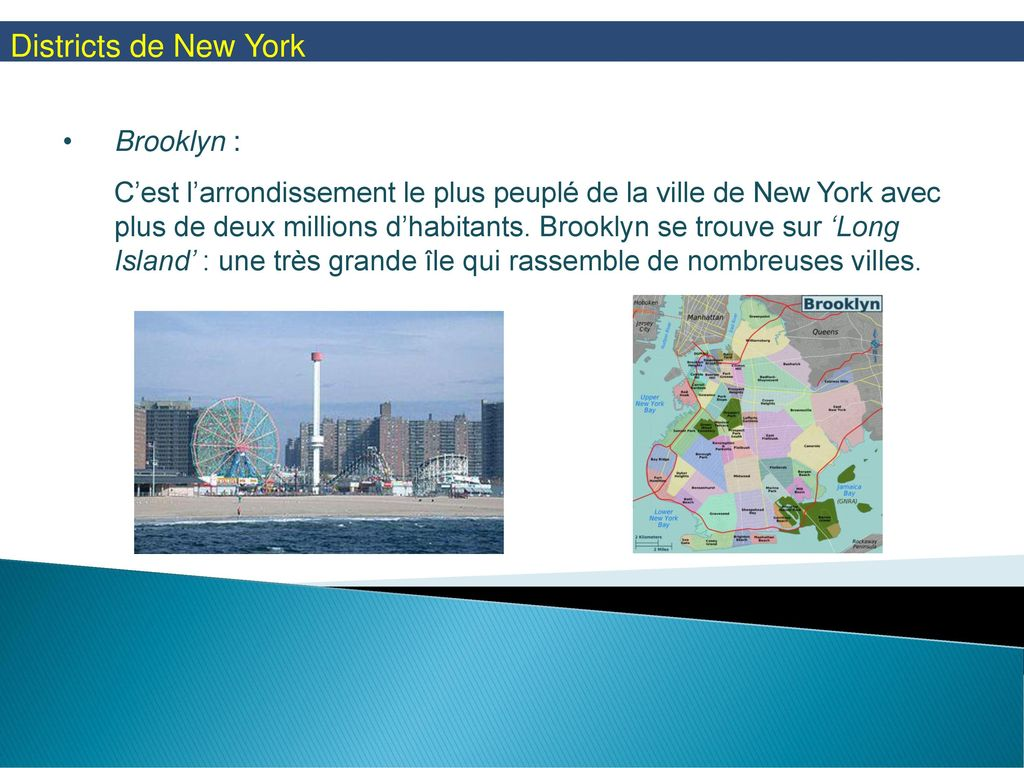 Districts de New York Brooklyn :