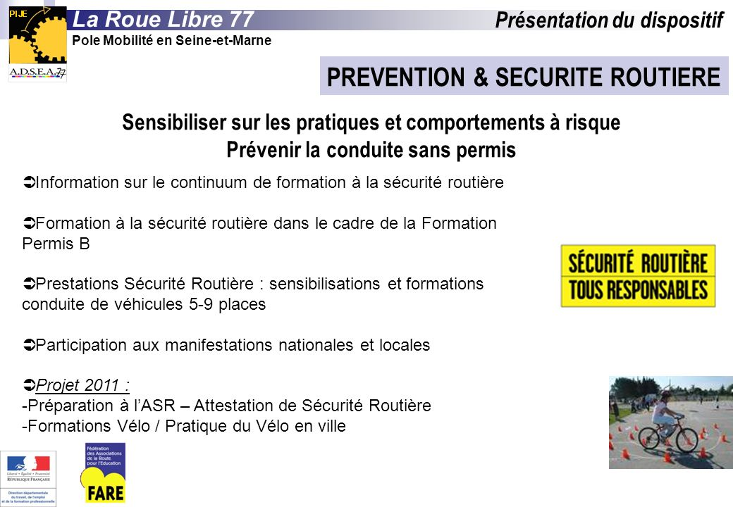 PREVENTION & SECURITE ROUTIERE