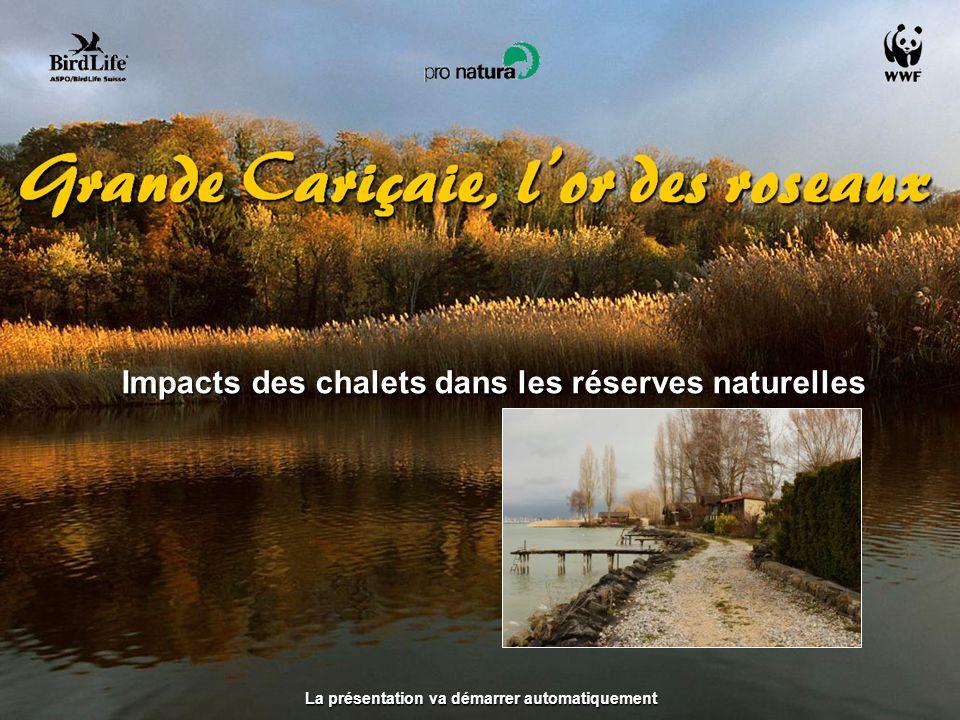Impacts des chalets dans les réserves naturelles
