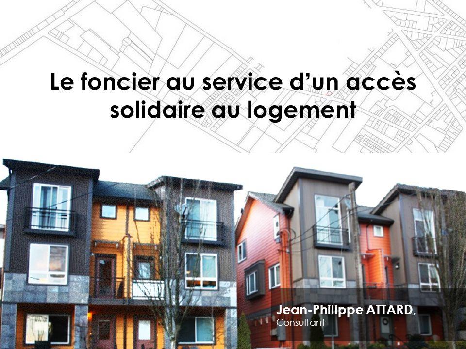Le foncier au service d'un accès solidaire au logement