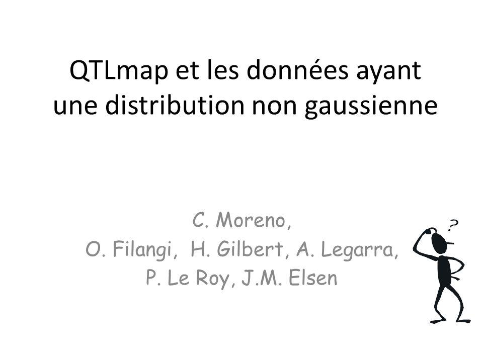 QTLmap et les données ayant une distribution non gaussienne