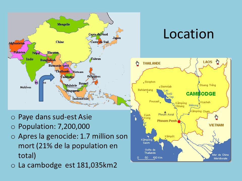 Location Paye dans sud-est Asie Population: 7,200,000
