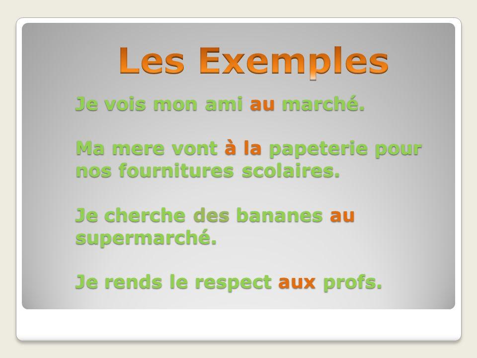 Les Exemples