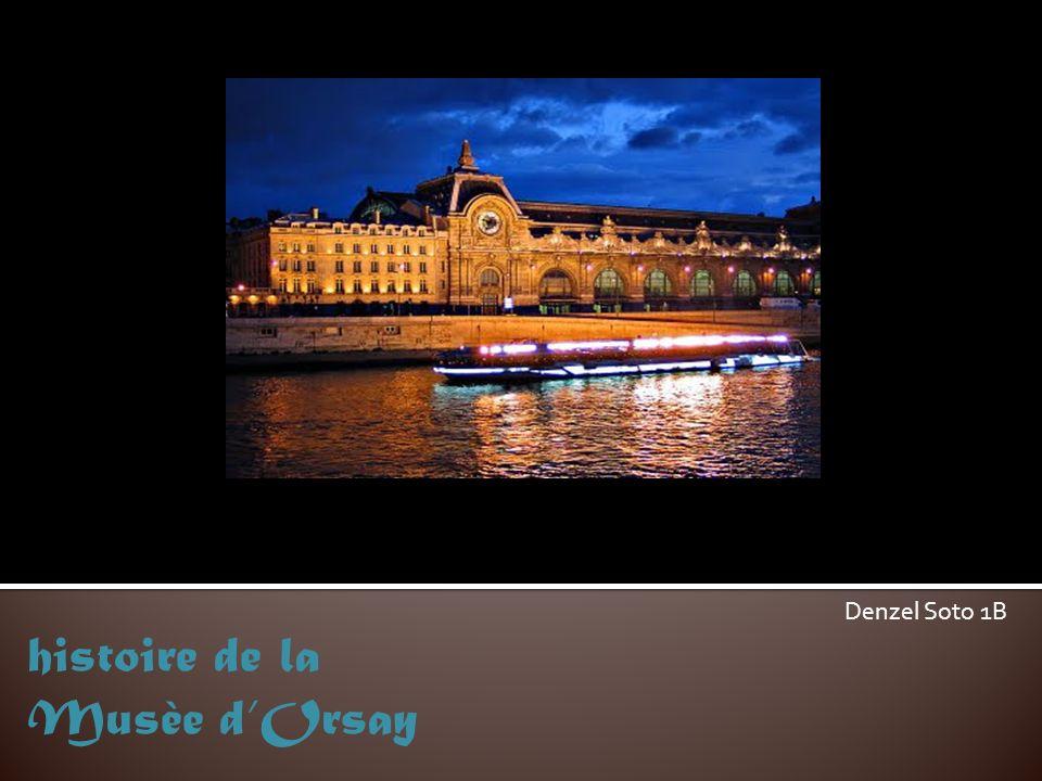 histoire de la Musèe d'Orsay