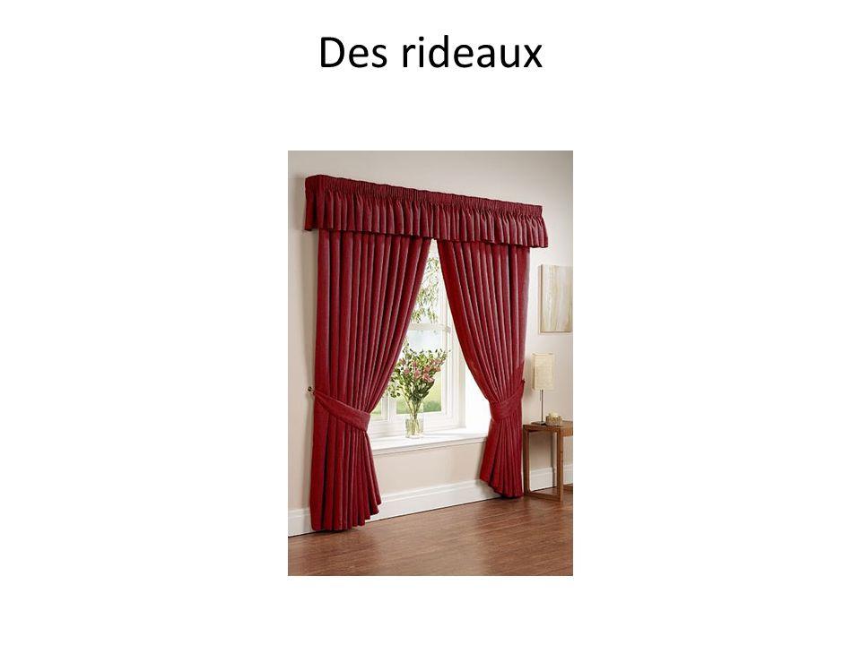 Des rideaux
