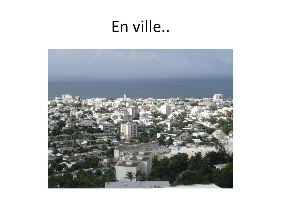 En ville..