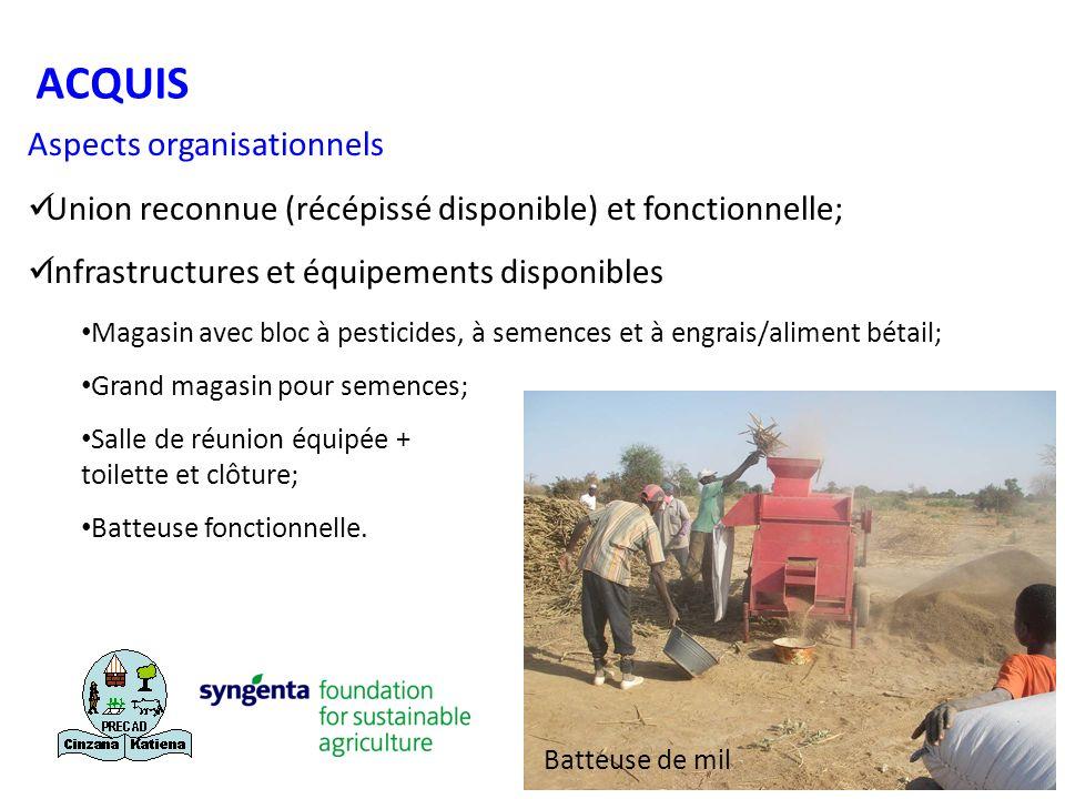 ACQUIS Aspects organisationnels