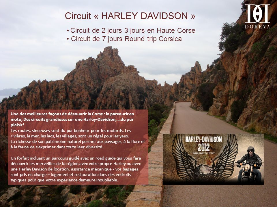 Circuit « HARLEY DAVIDSON »