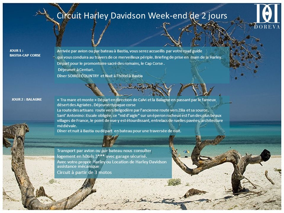 Circuit Harley Davidson Week-end de 2 jours