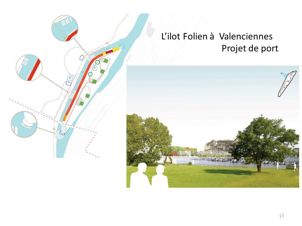L'ilot Folien à Valenciennes