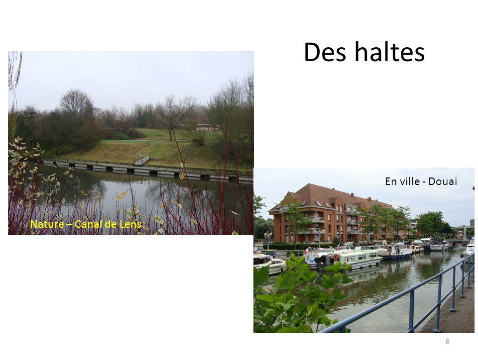 Des haltes En ville - Douai Nature – Canal de Lens