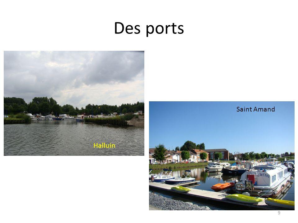 Des ports Saint Amand Halluin