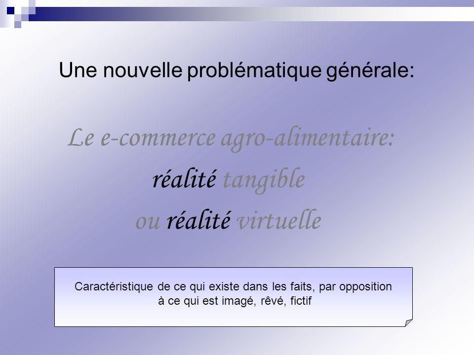 Le e-commerce agro-alimentaire: réalité tangible ou réalité virtuelle
