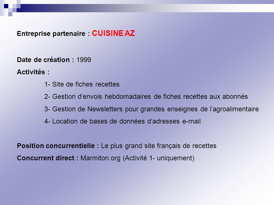 Entreprise partenaire : CUISINE AZ