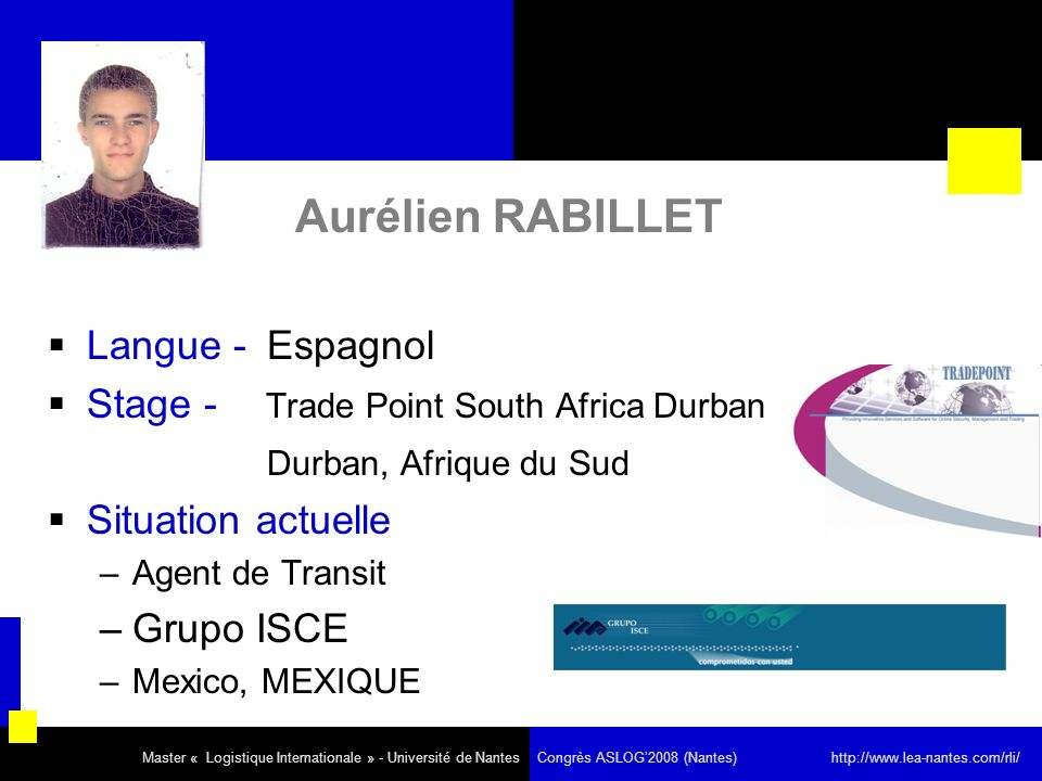 Aurélien RABILLET Langue - Espagnol