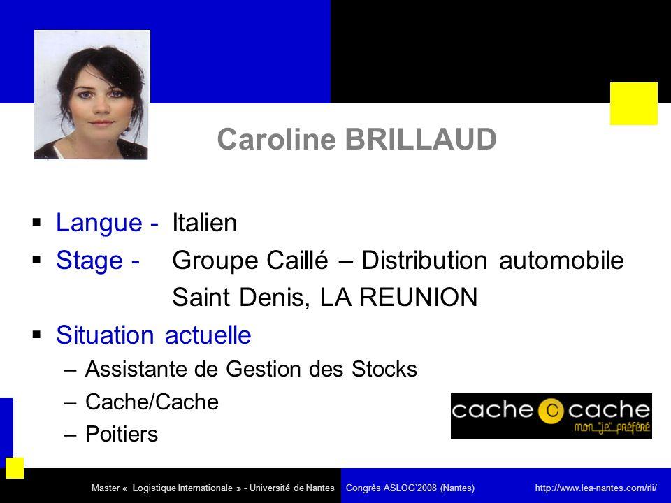 Caroline BRILLAUD Langue - Italien