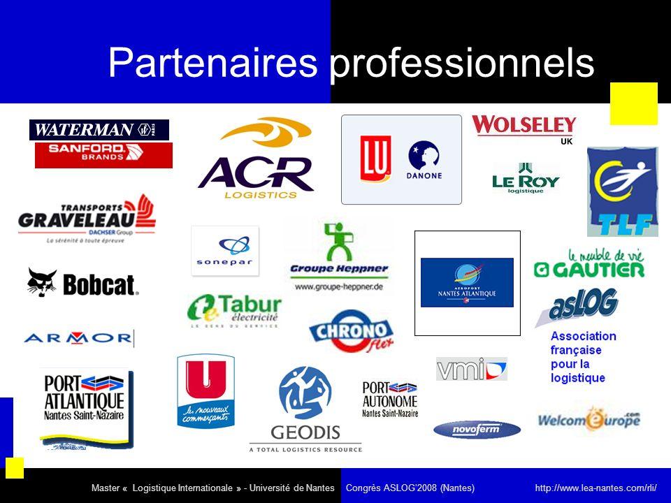Partenaires professionnels