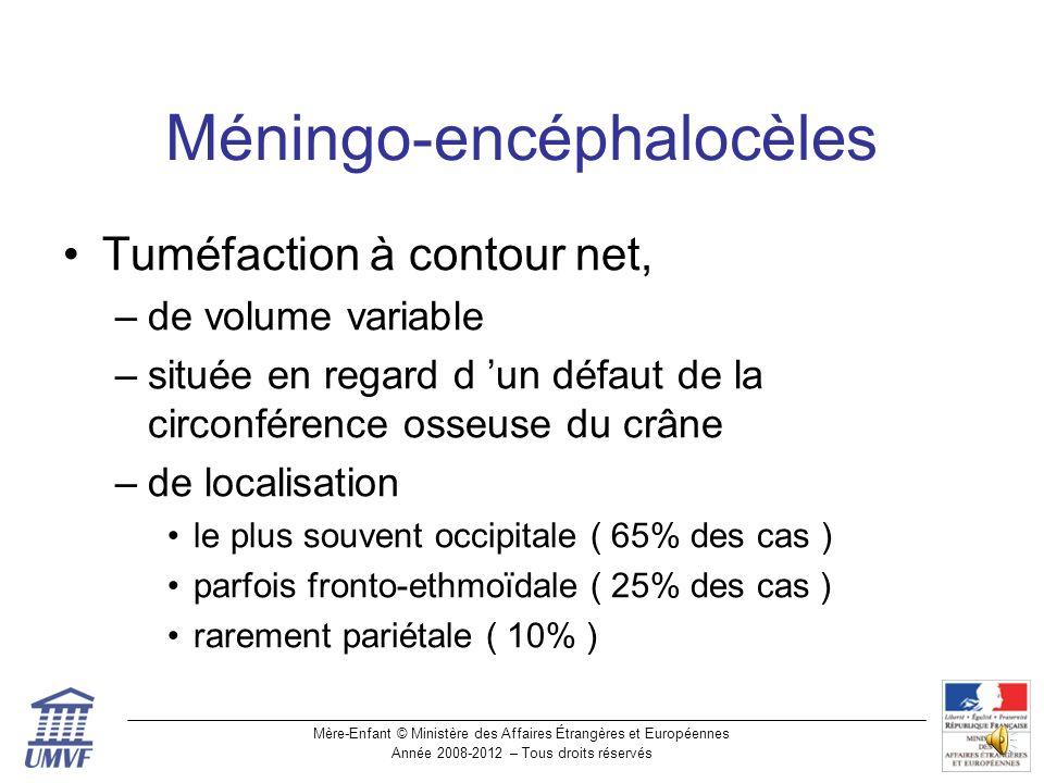 Méningo-encéphalocèles