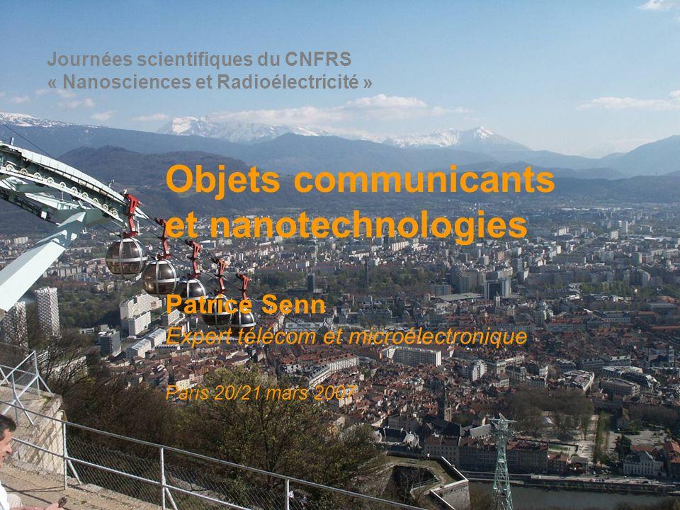 Objets communicants et nanotechnologies