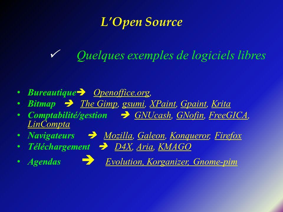 L'Open Source Bureautique Openoffice.org,