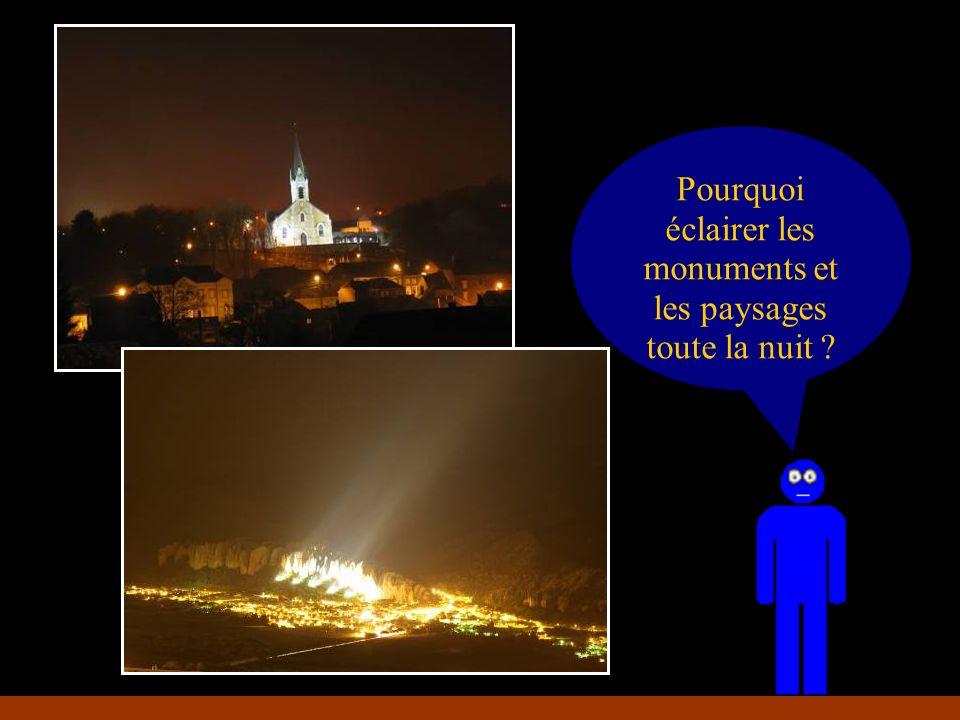 Pourquoi éclairer les monuments et les paysages toute la nuit