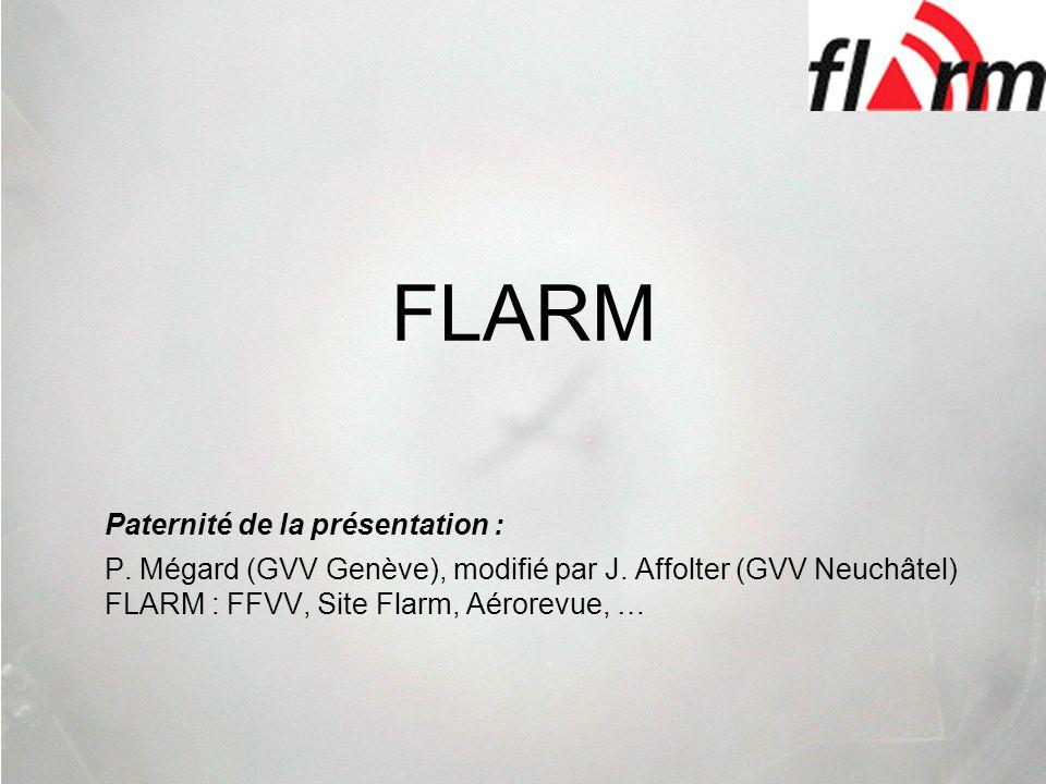 FLARM Paternité de la présentation :
