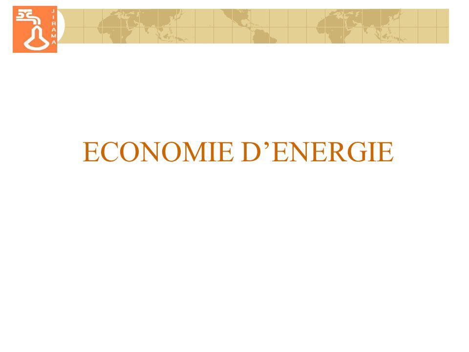 ECONOMIE D'ENERGIE