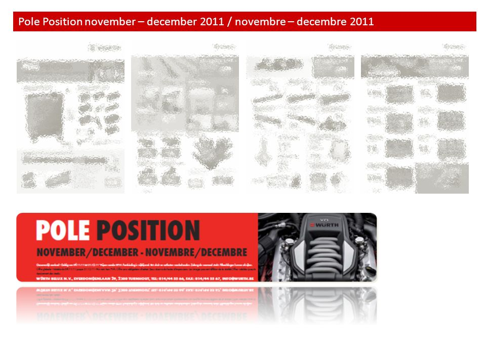 Pole Position november – december 2011 / novembre – decembre 2011